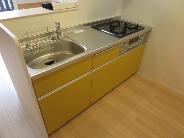 メゾンプラネット 202号室のキッチン