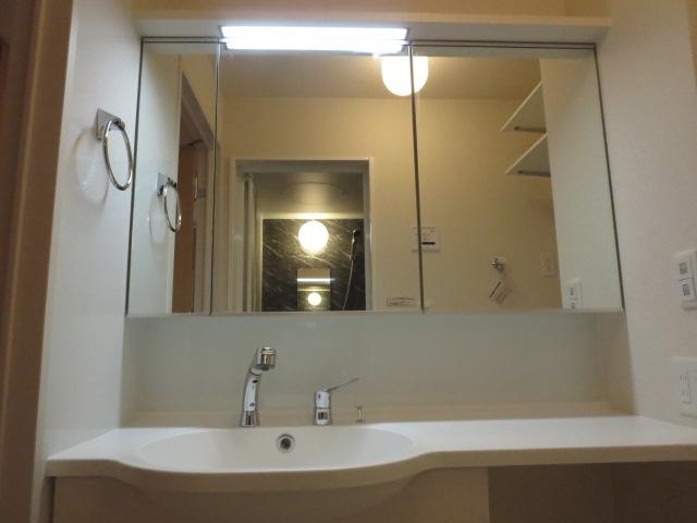 メゾンプラネット 202号室の洗面所