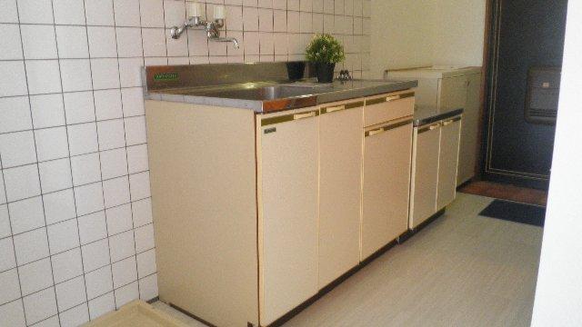 ステラハウスEZ 203号室のキッチン