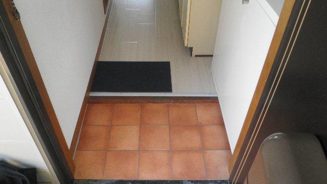 ステラハウスEZ 203号室の玄関