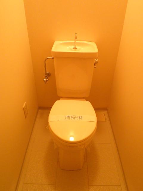 ベルハイム城山 203号室のトイレ