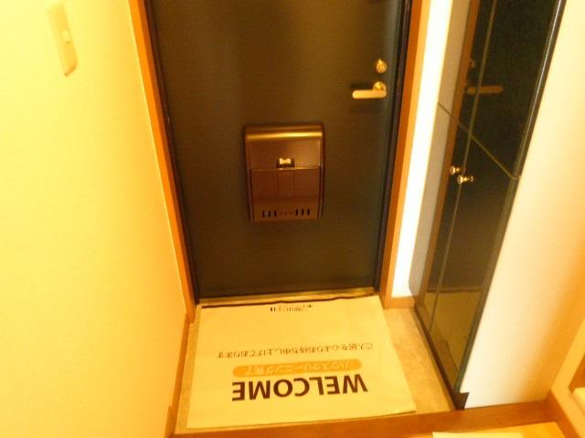 ベルハイム城山 203号室の玄関