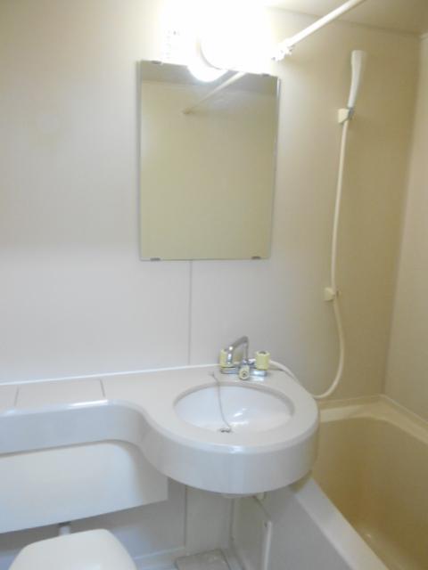 アトランタ 101号室の洗面所
