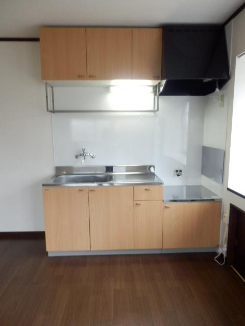 カームハイツ Ⅱ 101号室のキッチン