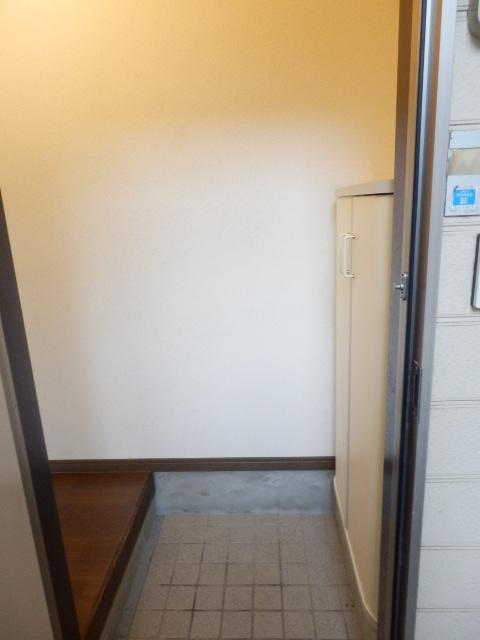 カームハイツ Ⅱ 101号室の玄関