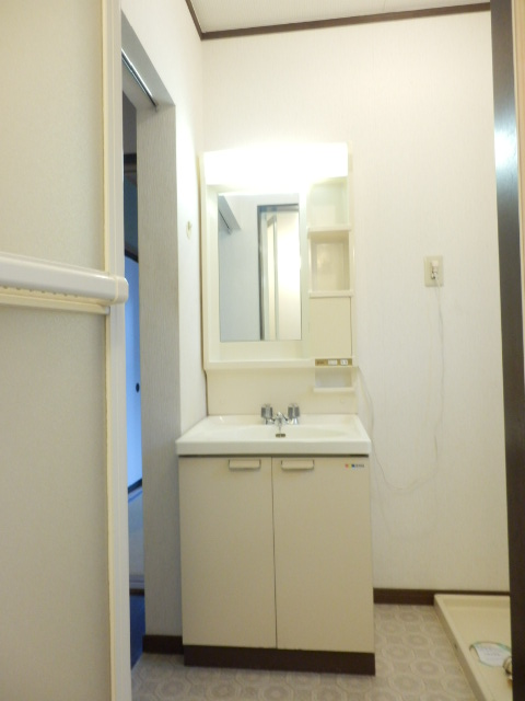 カームハイツ Ⅱ 101号室の洗面所