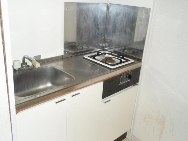ビューテラス横山 201号室のキッチン