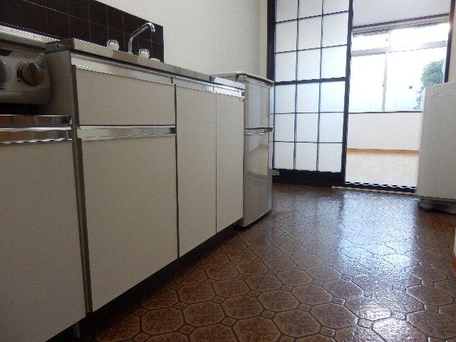 オレンジハウス壱番館 H号室のキッチン