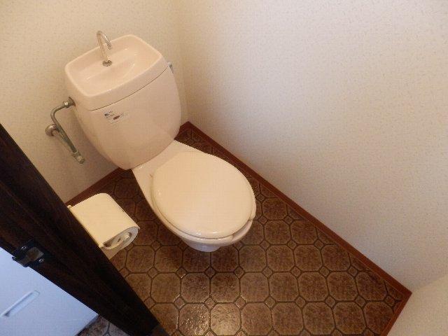 オレンジハウス壱番館 H号室のトイレ