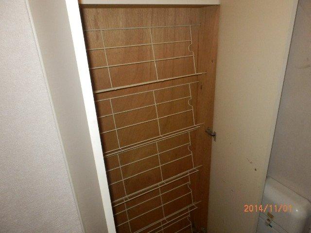 コンフォルト23 203号室の収納