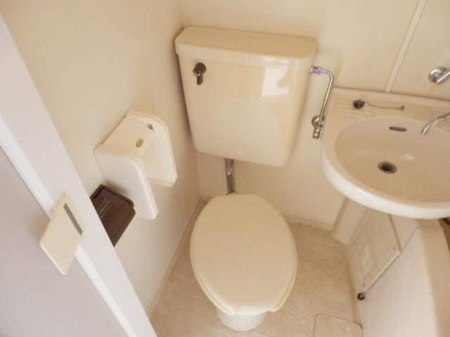 ホワイト中町 105号室のトイレ