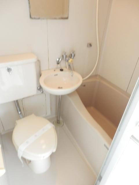 レイクヒル上大岡 203号室のトイレ