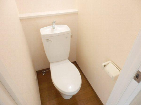 ハーミットクラブハウス上大岡 203号室のトイレ