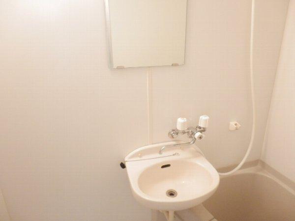 ハーミットクラブハウス上大岡 203号室の洗面所