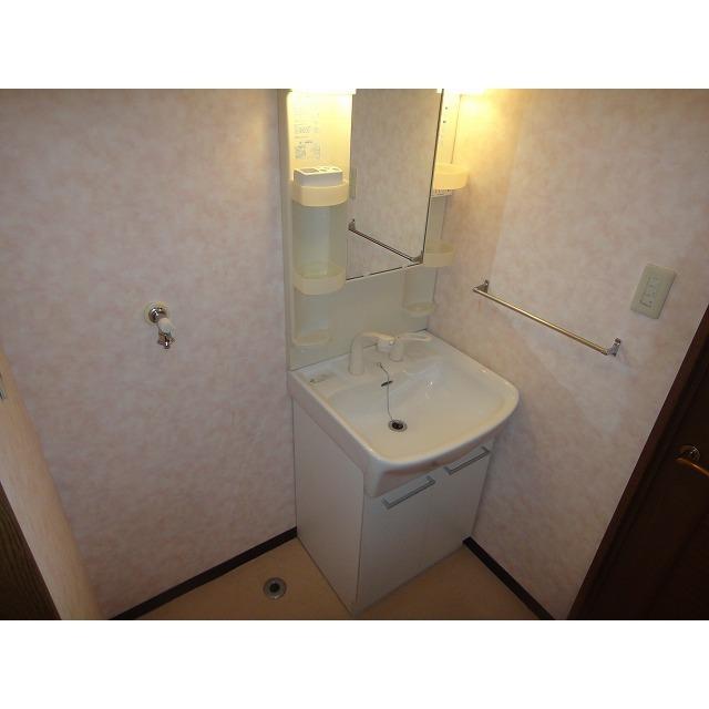 アゼリアコート 404号室の洗面所