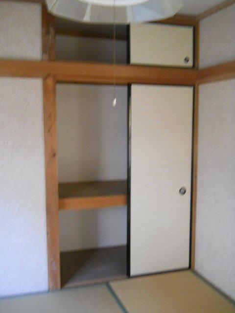 めじろ荘 105号室の収納