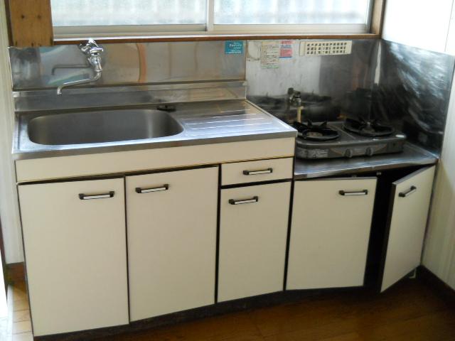 めじろ荘 105号室のキッチン