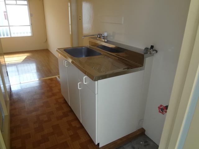 コーポ二葉2号B棟 102号室のキッチン