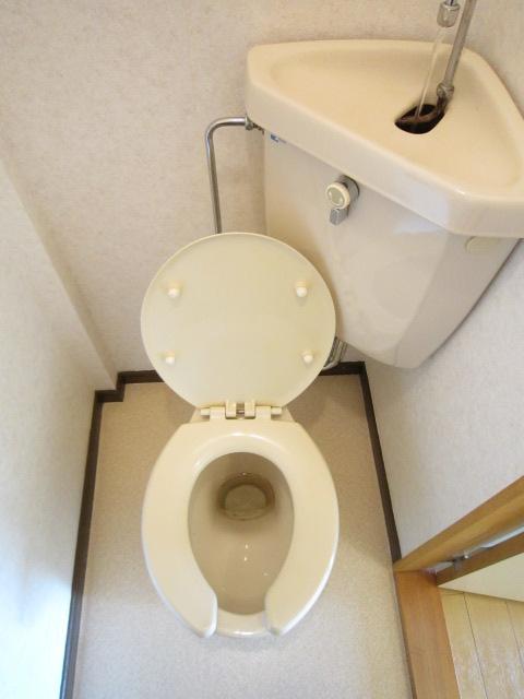 栢森ハイツA 203号室のトイレ