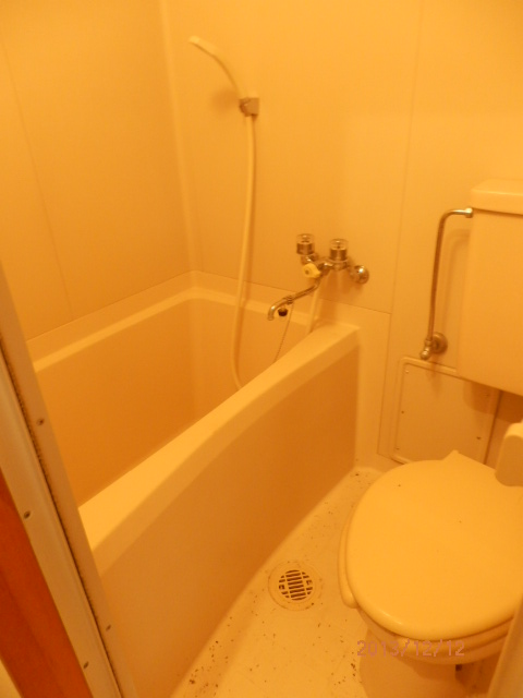 片浜ハイツ 202号室の風呂