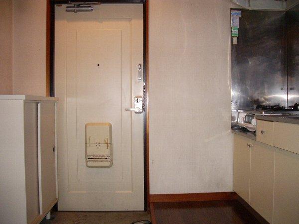 片浜ハイツ 202号室の玄関