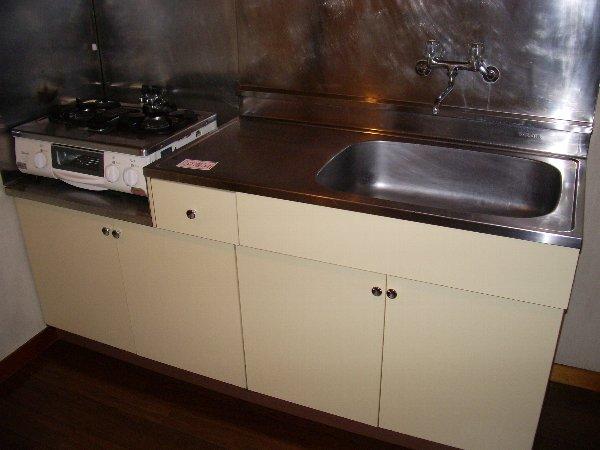 片浜ハイツ 202号室のキッチン