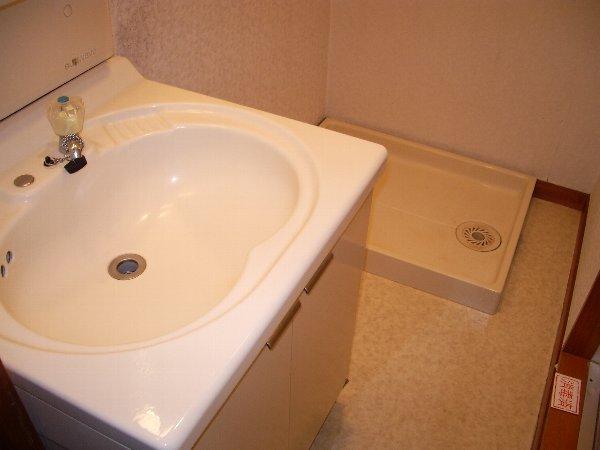 片浜ハイツ 202号室の洗面所