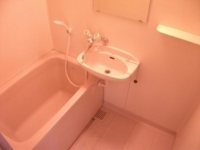 ツインパークせせらぎ西館 205号室の風呂