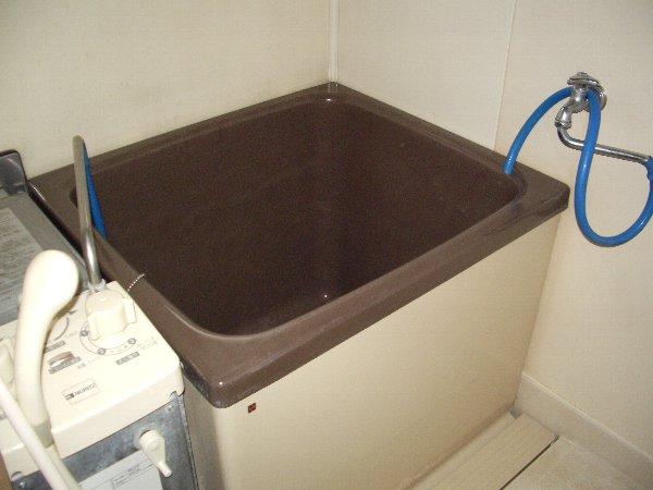 磯部ハイツ月見屋敷A 105号室の風呂