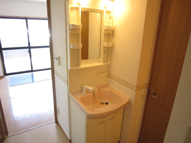 ピュアコート 102号室の洗面所