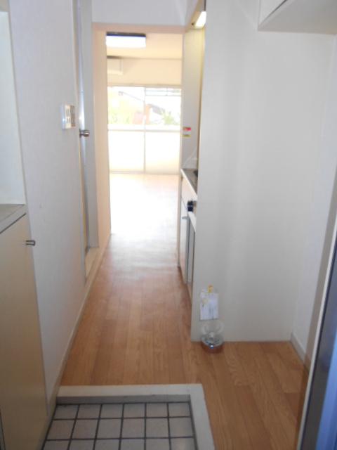 白銀シティハイツ 208号室の玄関