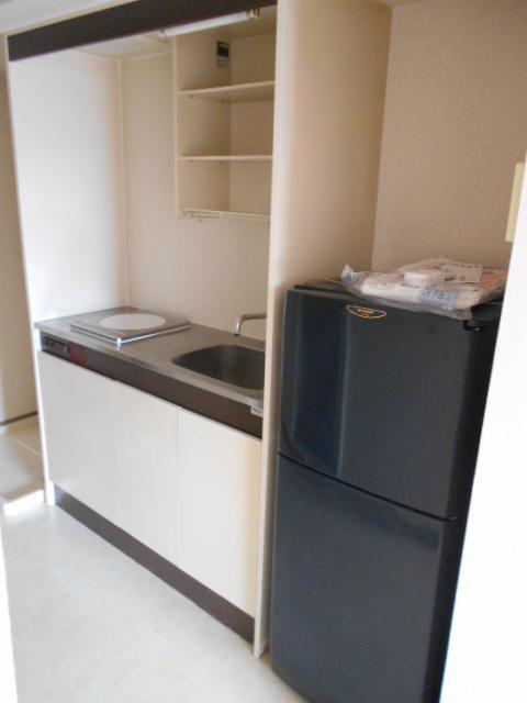 ヤマユ森マンション 202号室のキッチン