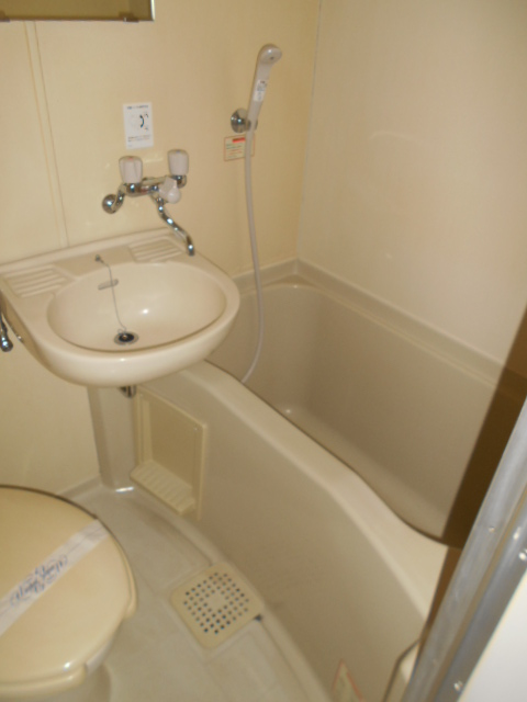 ヤマユ森マンション 202号室の風呂
