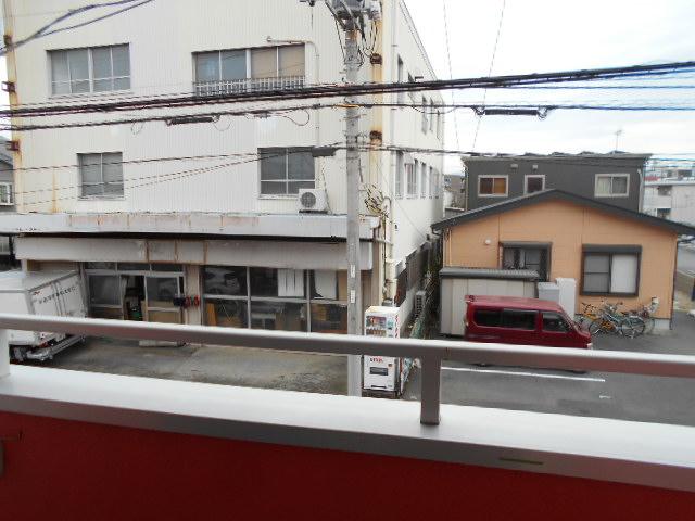 ヤマユ森マンション 202号室の景色