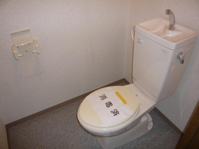 ベル・コリーヌ富貴ノ台 602号室のトイレ