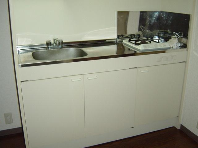 サンハイツみそのⅡ 202号室のキッチン