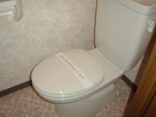 サンハイツみそのⅡ 202号室のトイレ