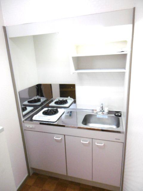 ドリームハイツ 203号室のキッチン
