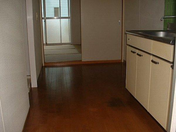 メゾンド・イナガキ 202号室のキッチン
