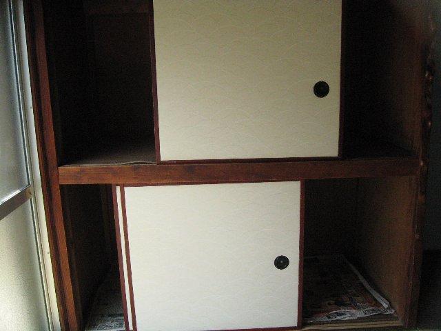 松林荘 5号室の収納
