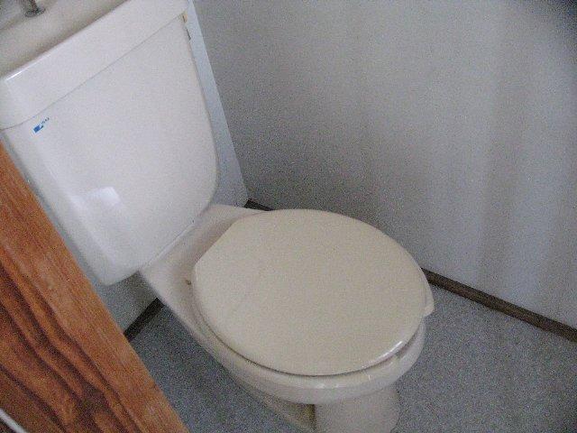 松林荘 5号室のトイレ