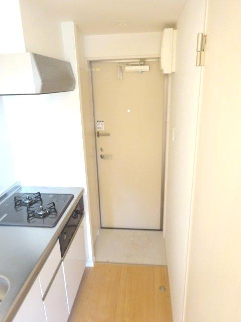 ヒルハイツ上本郷 205号室の玄関