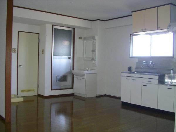 ハイム櫛引 412号室のキッチン