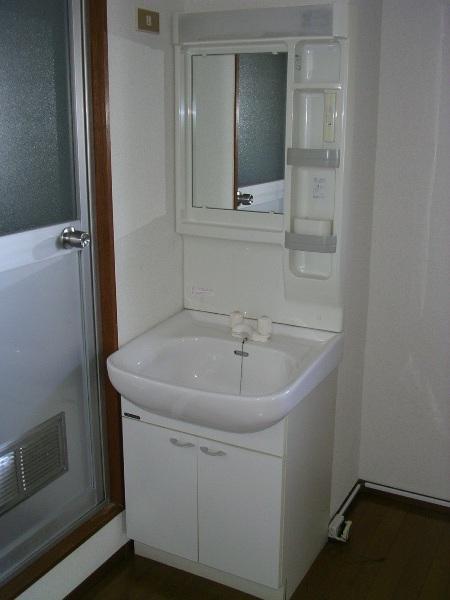 ハイム櫛引 412号室の洗面所