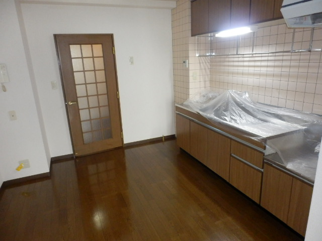 ぐりーんぷらざ 102号室のキッチン