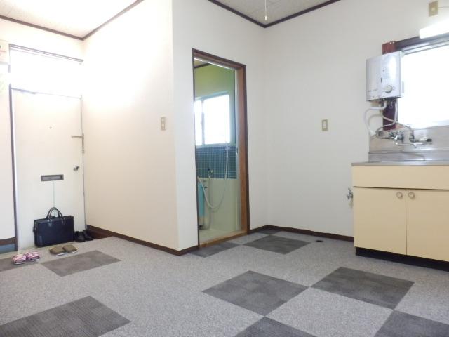 ヒロハウス A-5号室の玄関