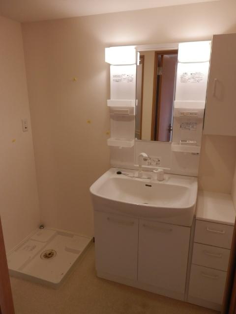パストラルピア 403号室の洗面所
