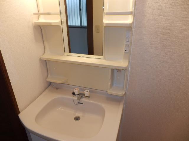 ツインキャッスルⅠ 101号室の洗面所