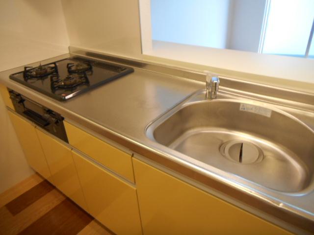 ティエラロッソ 401号室のキッチン