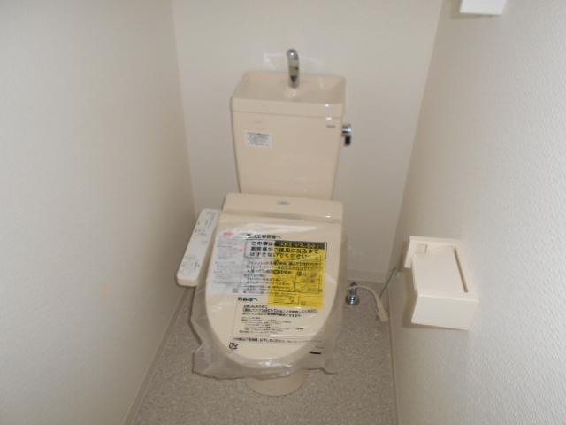 プランドール 202号室のトイレ